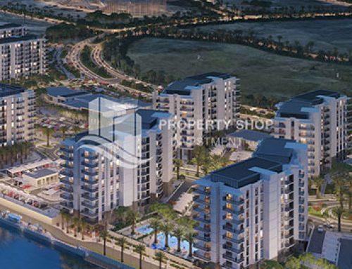 مشروع وترز أج ، في قلب جزيرة ياس أبوظبي